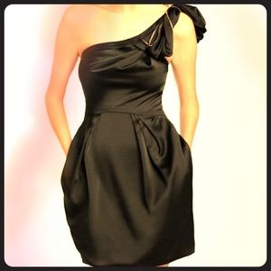 BCBG Monaco Azalea Black Dress